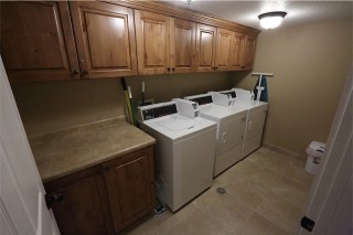 ASPIRE laundry room