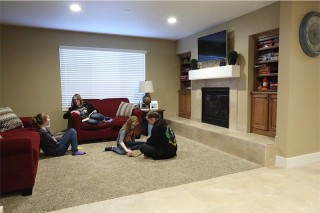Mountain Birch family room