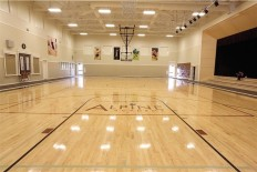 Fitness Center basketball court
