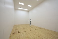 Fitness Center racquetball court