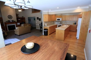 Gene Smith kitchen, dining, and family room