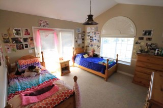 Gene Smith bedroom