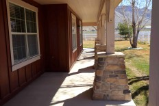 Oak Ridge wrap around porch