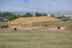 Riding Arena Hay Barn 3